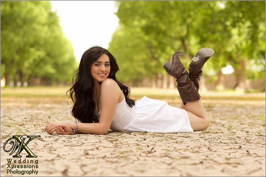 senior session in El Paso