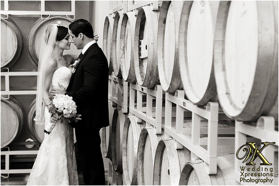 Winery wedding photos