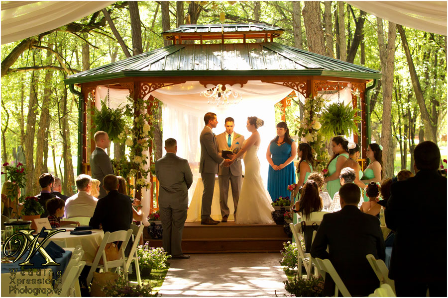 wedding at Sanctuary on the River
