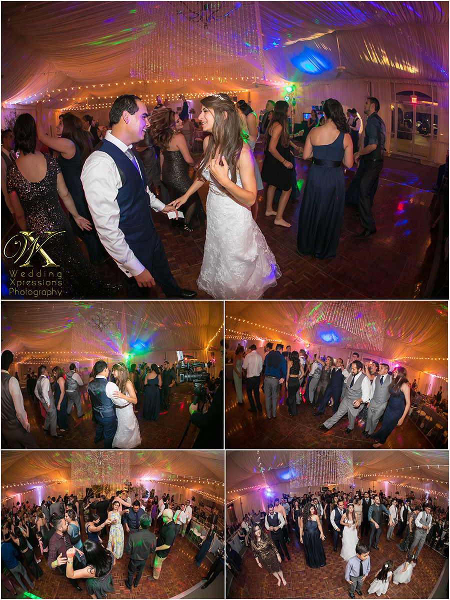 wedding dance at Grace Gardens