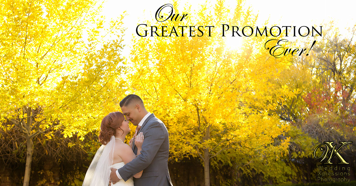 Wedding Xpressions greatest promotion ever