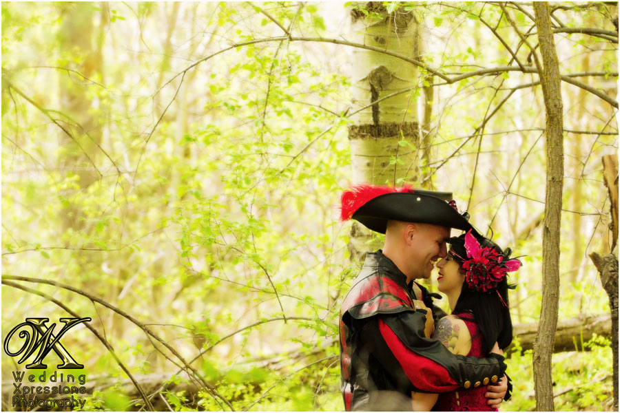 renaissance engagement in forest