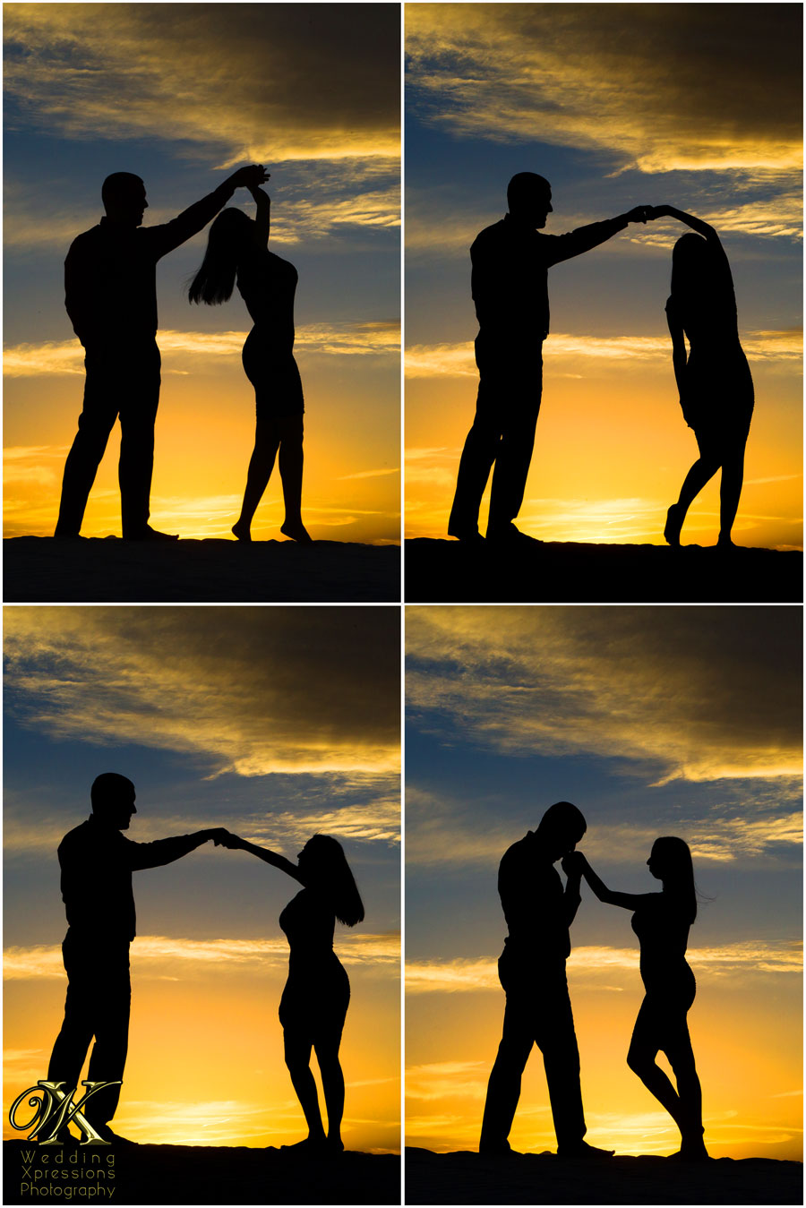 Wedding Xpressions engagement silhouette