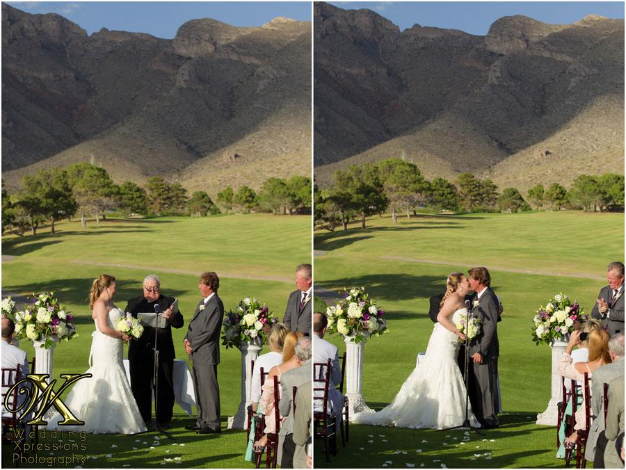wedding ceremony at Coronado Country Club