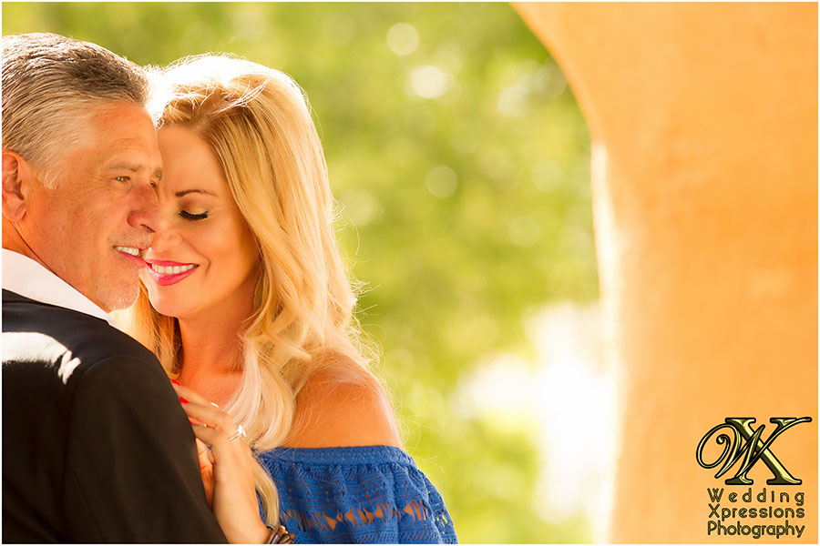 romantic engagement photography session