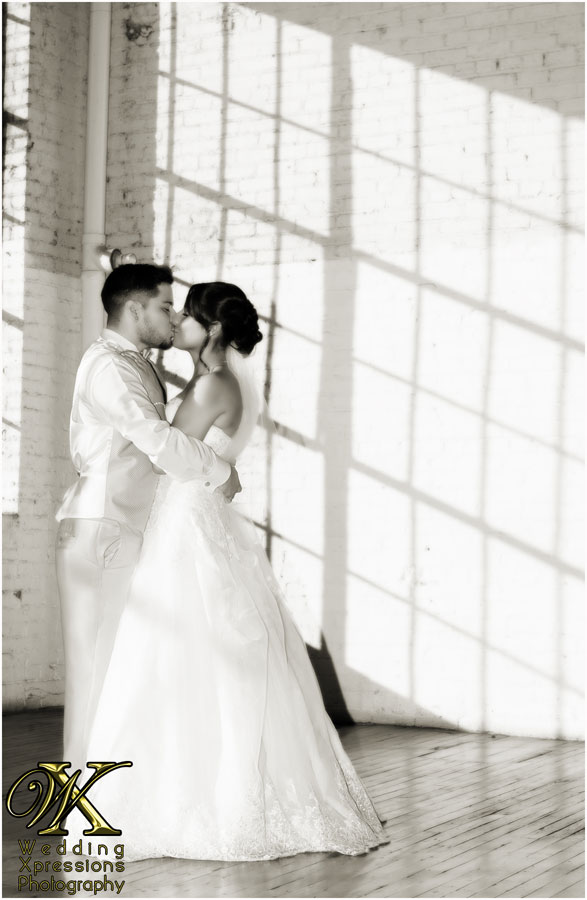 black and white wedding photos by Wedding Xpressions
