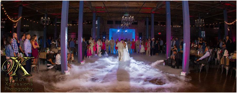 wedding photographer at EPIC Railyard in El Paso