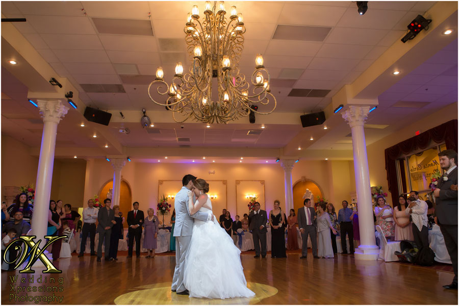 wedding first dance at Monte Carlo Hall