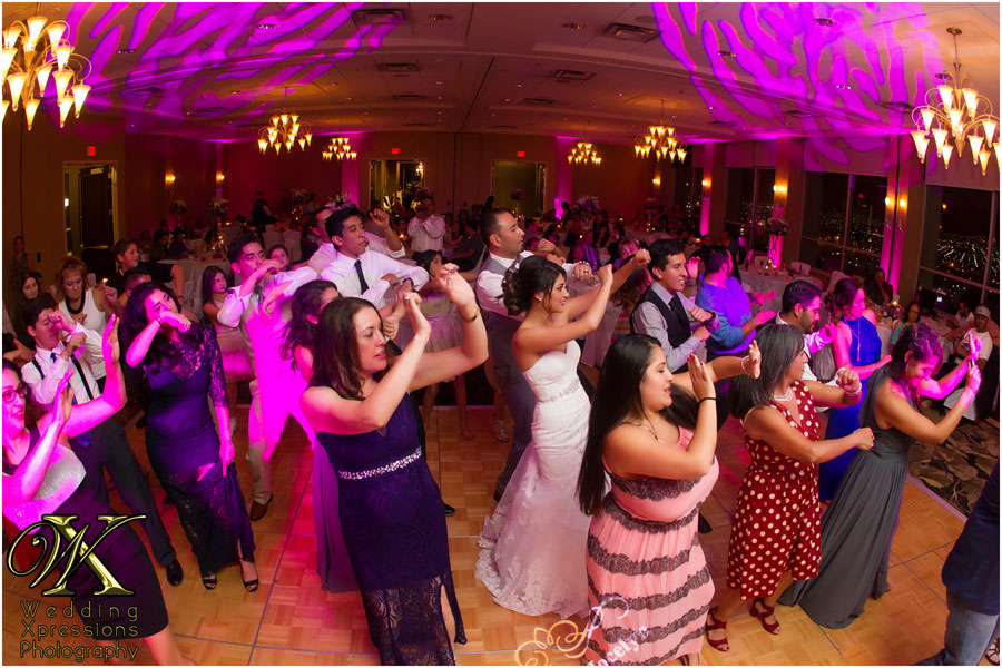 wedding dance at DoubleTree Hotel in El Paso