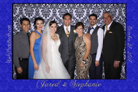 red carpet wedding photos in El Paso