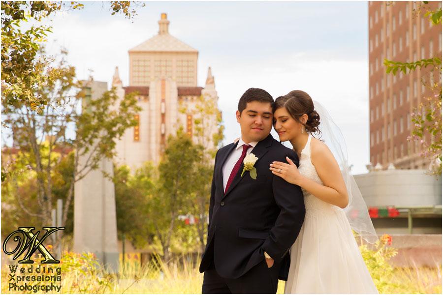 El Paso city wedding photography