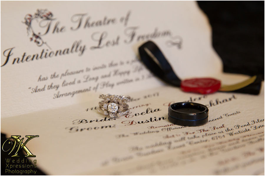 ring on invitation
