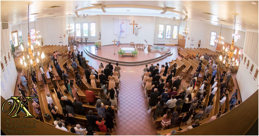 St. Pius wedding