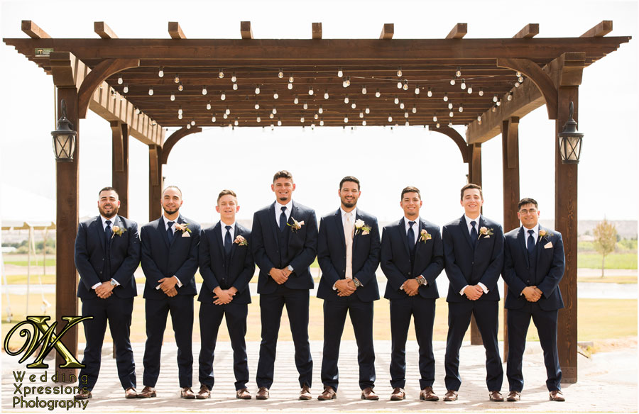 groomsmen photo by Wedding Xpressions