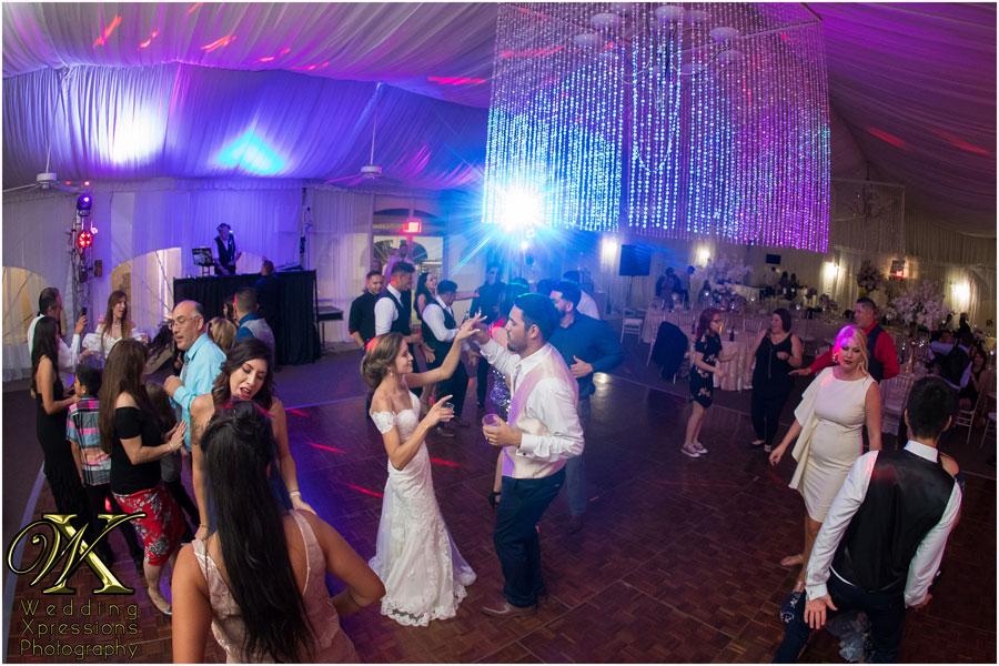 wedding dance at Grace Gardens in El Paso