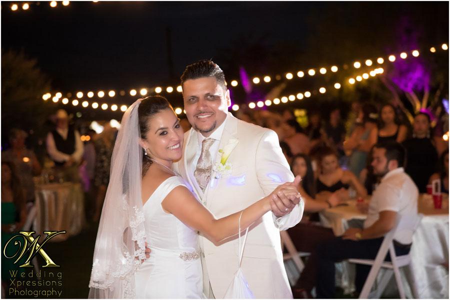 El Paso's wedding at The Secret Garden
