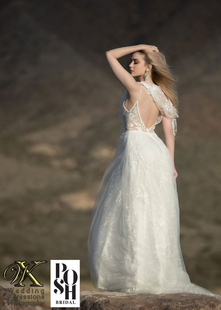 Dress by Posh Bridal, Wedding Xpressions