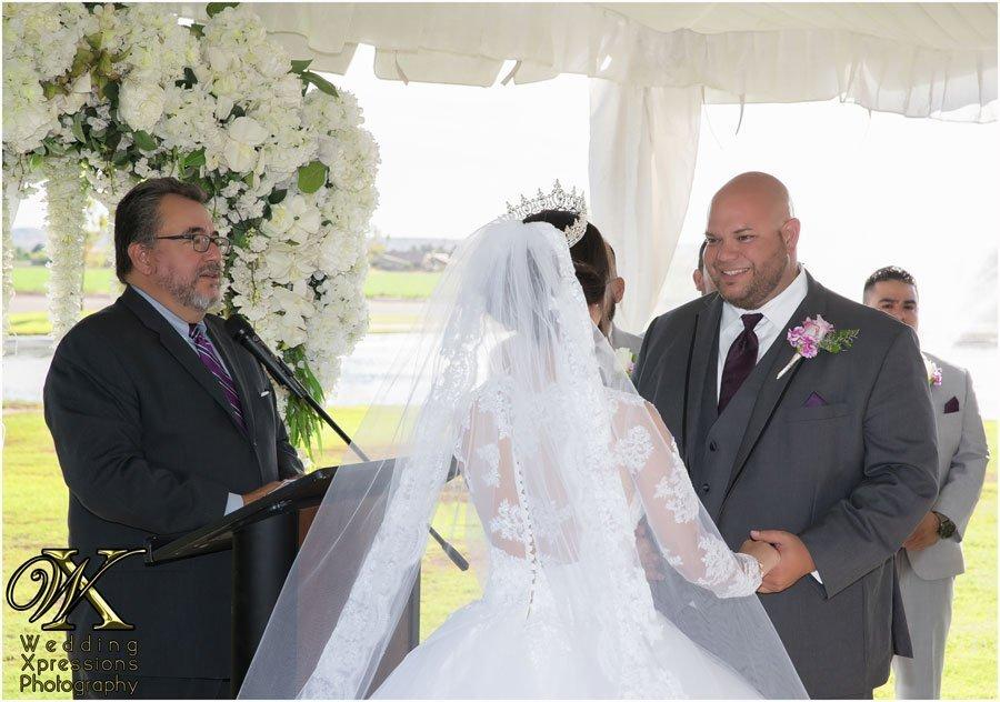 wedding in El Paso at Grace Gardens