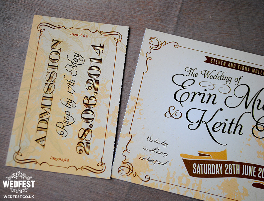 Antique Wedding Invitations