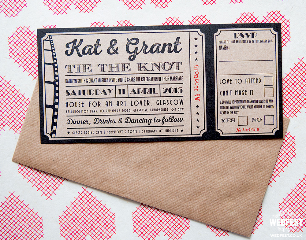 vintage cinema ticket invitation cards birthday ticket with pontil greeting cards invitations greeting cards party supply