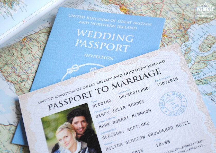 Wedding Pport Invites