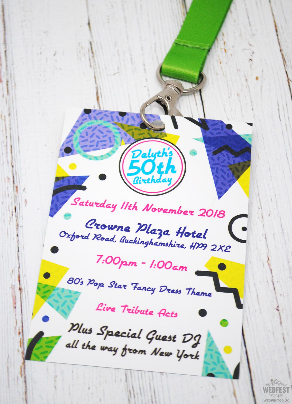 festival themed birthday party invites