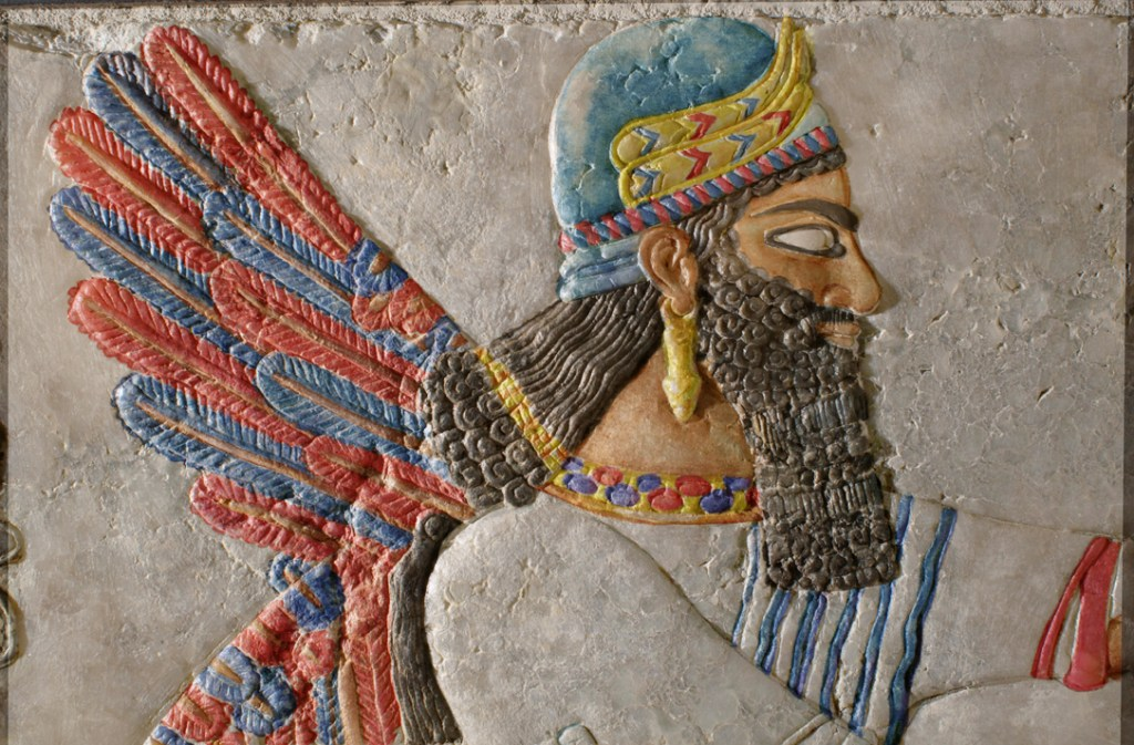 Assyrian relief colored by ST (YUAG 1854)_2