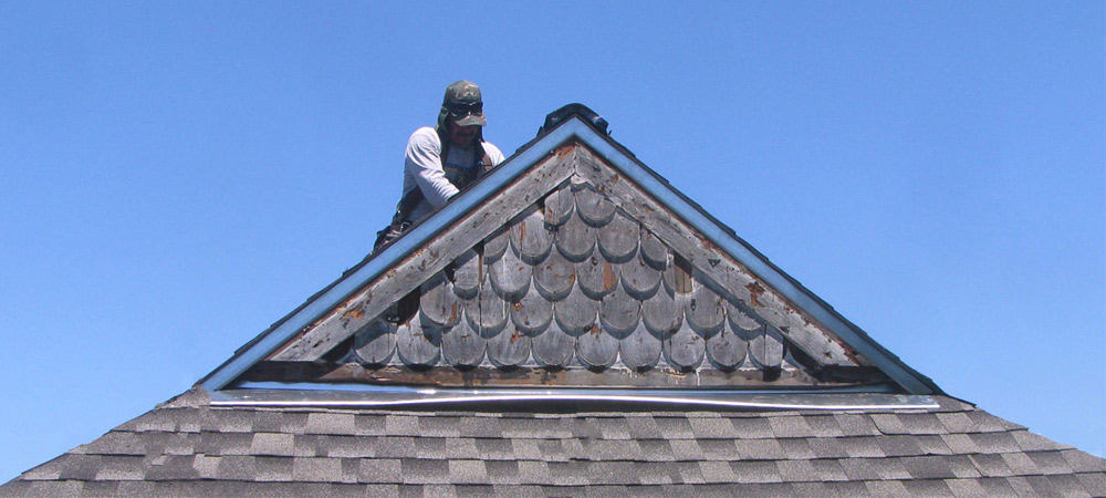 wedge roofing