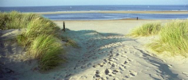 Thornham beach North Norfolk