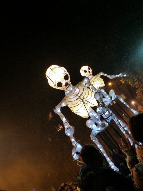 Halloween Procession in Norwich