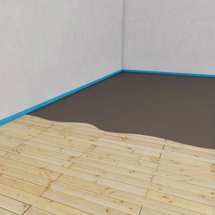 wooden substrates wedi de