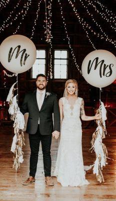 Giant Mr & Mrs Balloons