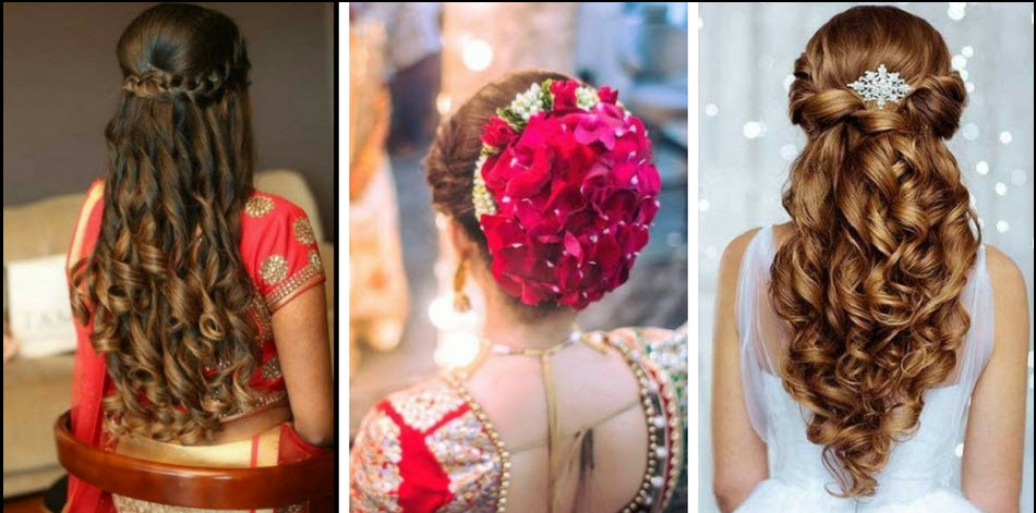 30+ Indian Bridal Wedding Hairstyles for Short to Long Hair