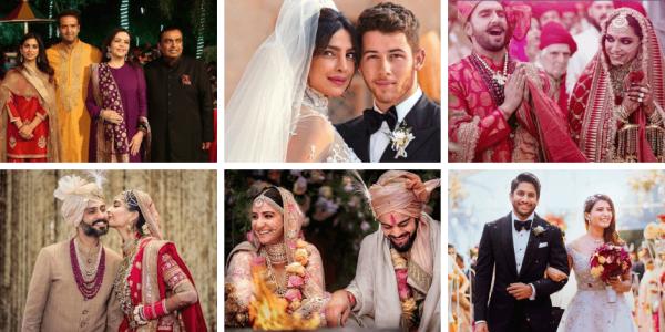 bollywood celebrity wedding 2018-2019