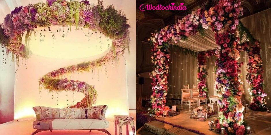 15 Best Indian Wedding Reception Stage Decoration Ideas 2019