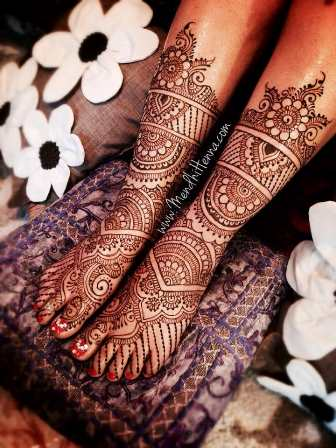 mehendi design for legs 2019