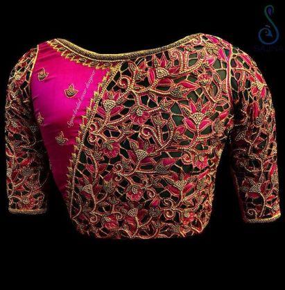 Lehenga Blouse Designs for Bridal
