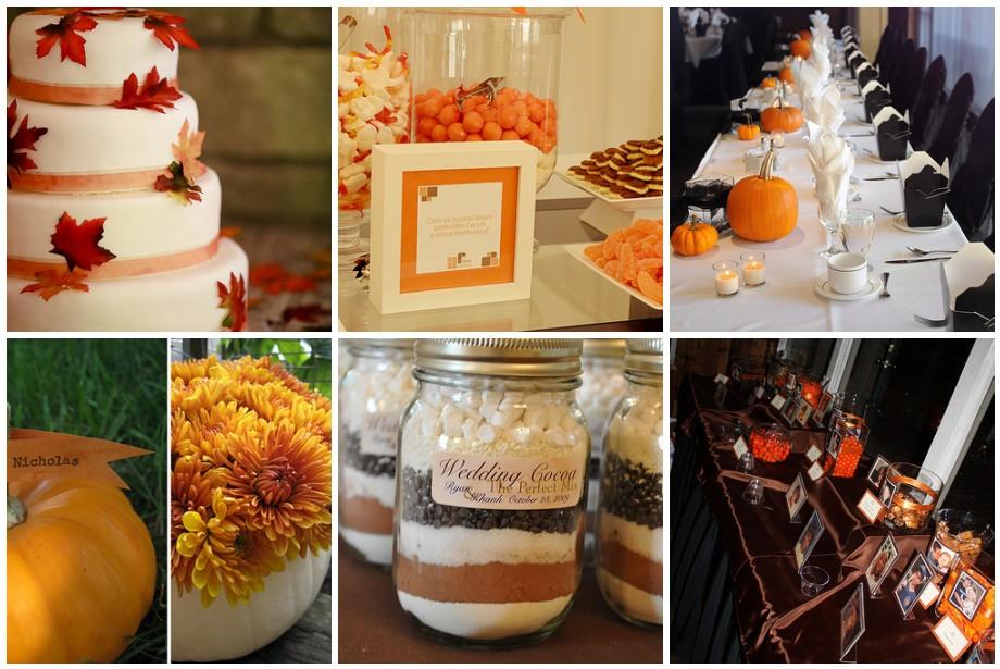 Fall Wedding Decorations Cheap Romantic Decoration