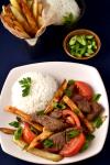 Lomo Saltado (Beef and French Fry Stir Fry) | WednesdayNightCafe.com