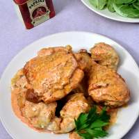 Chicken Paprikash with Dumplings