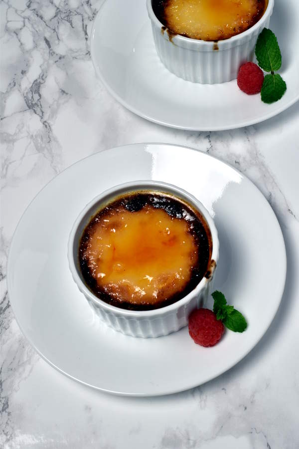 Creme Brulee without a Blowtorch | WednesdayNightCafe.com