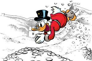 Scrooge mcduck in China