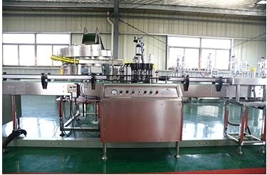 Fully Automatic Aerosol Filling and Sealing Spray Production Line 32