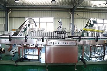 Fully Automatic Aerosol Filling and Sealing Spray Production Line 31