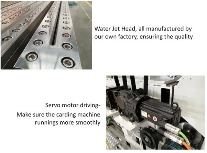 Spun lace Nonwoven Production Line for Wet Wipes and Tissue 3