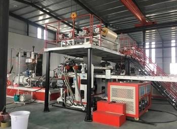 PVC SPC Flooring Extrusion Line 7