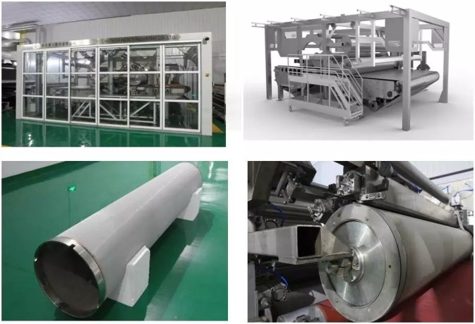Spun lace Nonwoven Production Line for Wet Wipes and Tissue 2