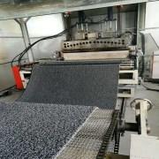 PVC Double Color Coil Floor Mat Production Line 4