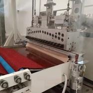 PVC Double Color Coil Floor Mat Production Line 3