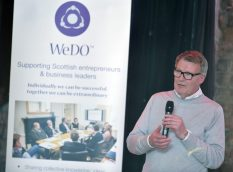 WeDo Scotland Glasgow Launch Event